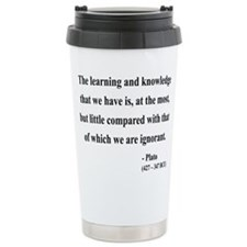 Cute Plato Travel Mug