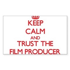 Keep Calm and Trust the Film Producer Decal