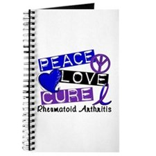 RA Peace Love Cure 1 Journal