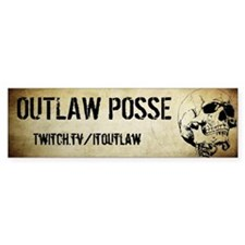 OUTLAWPOSSE Bumper Sticker