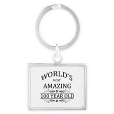 World's Most Amazing 100 Year O Landscape Keychain