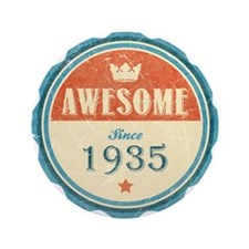 "Awesome Since 1935 3.5"" Button (100 pack)"