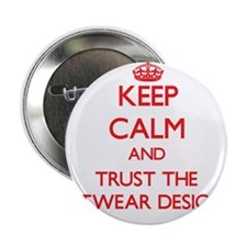 "Keep Calm and Trust the Knitwear Designer 2.25"" Bu"