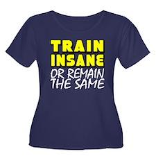 Train Insane Plus Size T-Shirt