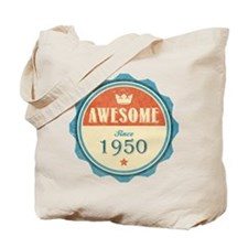 Awesome Since 1950 Tote Bag