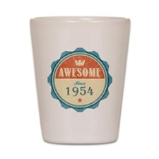 Awesome Since 1954 Shot Glass