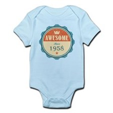 Awesome Since 1958 Infant Bodysuit