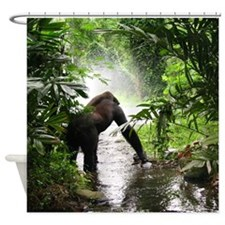 Gorilla Jungle Shower Curtain