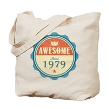 Awesome Since 1979 Tote Bag