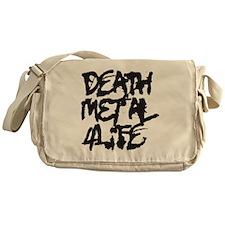 Death Metal 4Life Messenger Bag