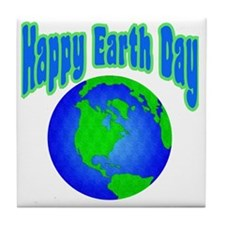 Happy Earth Day: Tile Coaster