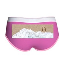 LETTERS IN SAND B Women's Boy Brief