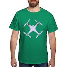 DJI Phantom Quadcopter Top View T-Shirt