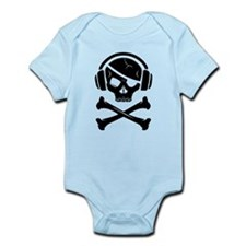 Music Pirate (bittorrent) Infant Bodysuit