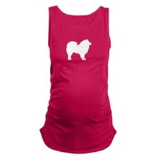 american eskimo wh.png Maternity Tank Top