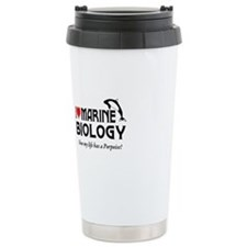 Unique Marine heart Travel Mug