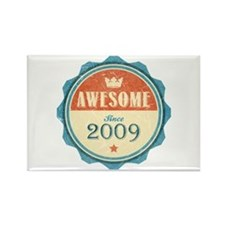 Awesome Since 2009 Rectangle Magnet