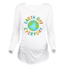 Earth Day Everyday Long Sleeve Maternity T-Shirt