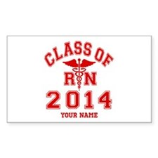 Class Of 2014 RN Decal