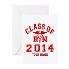 Class Of 2014 RN Greeting Cards (Pk of 10)