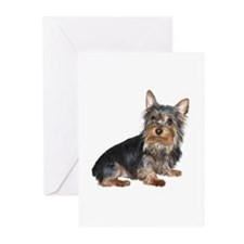 Silky Terrier (gp2) Greeting Cards (Pk of 10)