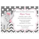 Elephant baby shower Invitations & Announcements