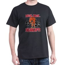 realmenDLblkFLAT.psd T-Shirt