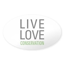 Live Love Conservation Decal