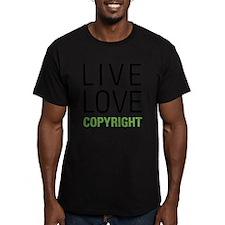 Live Love Copyright T