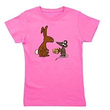 Mouse and Bunny Girl's Tee
