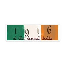 Ireland Flag 1916 Easter Rising Car Magnet 10 x 3