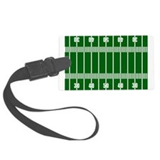 Football Field Luggage Tag