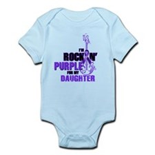 RockinPurpleForDaughter Body Suit