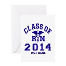 Class Of 2014 RN Greeting Card