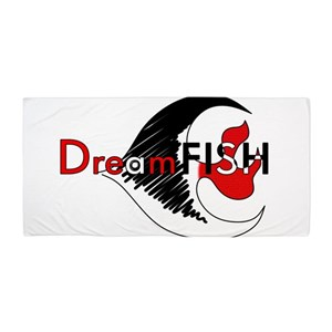 Dreamfish Beach Towel