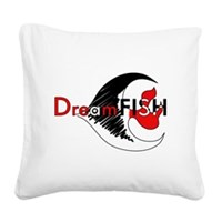 DreamFISH Square Canvas Pillow