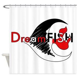 Dreamfish Shower Curtain