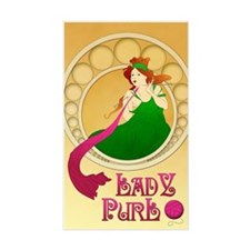 Lady Purl Decal