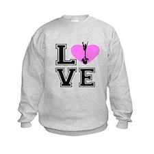 Love Cheerleading Sweatshirt