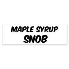 Maple Syrup Bumper Bumper Stickers