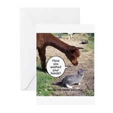 Unique Infection control Greeting Cards (Pk of 10)