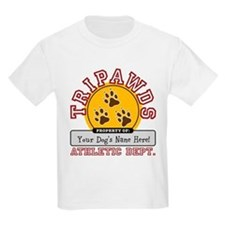 Tripawds Athletic Dept Kids T-Shirt