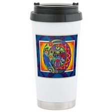 Mexican Sun and Moon Travel Mug