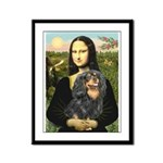 Mona's Cavalier (BT) Framed Panel Print