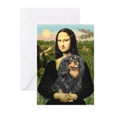 Mona's Cavalier (BT) Greeting Cards (Pk of 10)