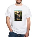 Mona's Cavalier (BT) White T-Shirt