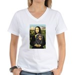 Mona's Cavalier (BT) Women's V-Neck T-Shirt