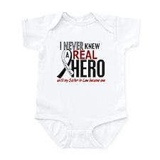 Carcinoid Cancer Real Hero 2 Infant Bodysuit