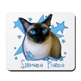 Siamese Please Mousepad