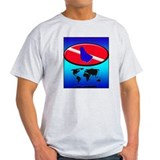 Barbados Dive Flag T-Shirt